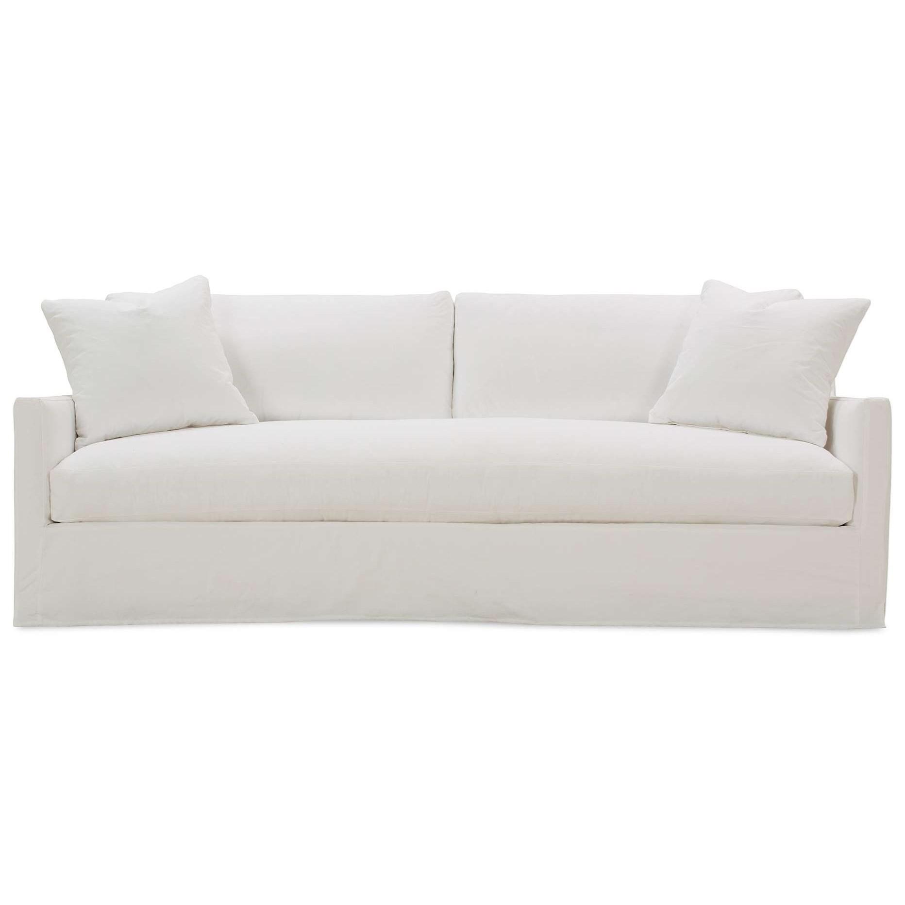 Merritt Bench Cushion Sofa  by Rowe at Steger's Furniture