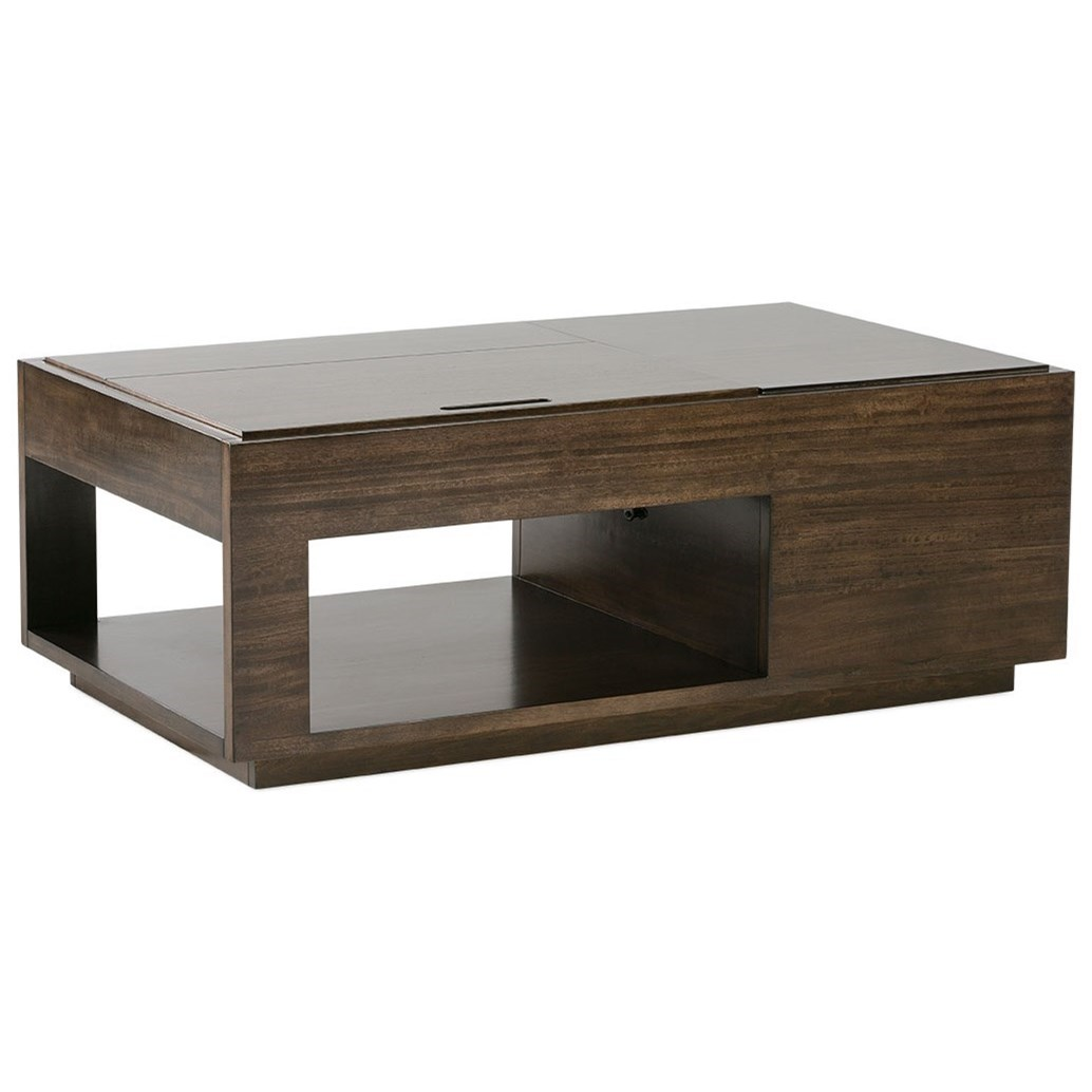 Metro Lift Top Cocktail Table by Rowe at Baer's Furniture
