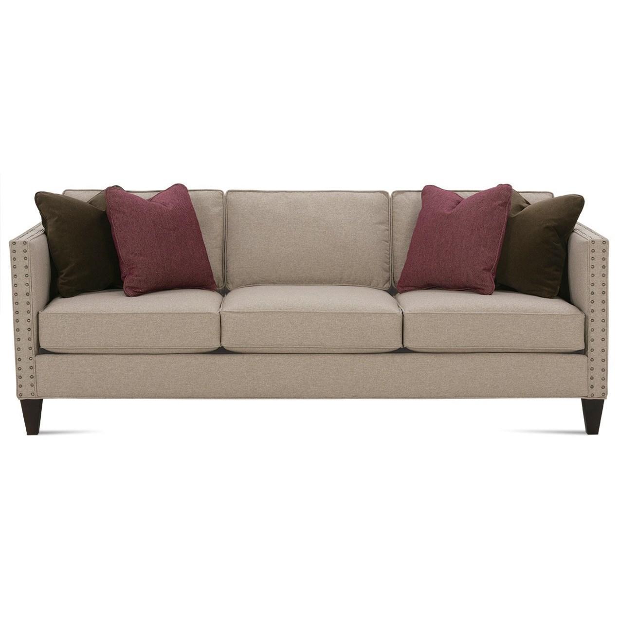 Mitchell - RXO <b>Custom</b> Queen Sleeper by Rowe at Baer's Furniture