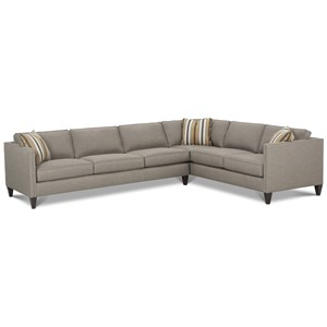 <b>Customizable</b> Contemporary Sectional Sofa
