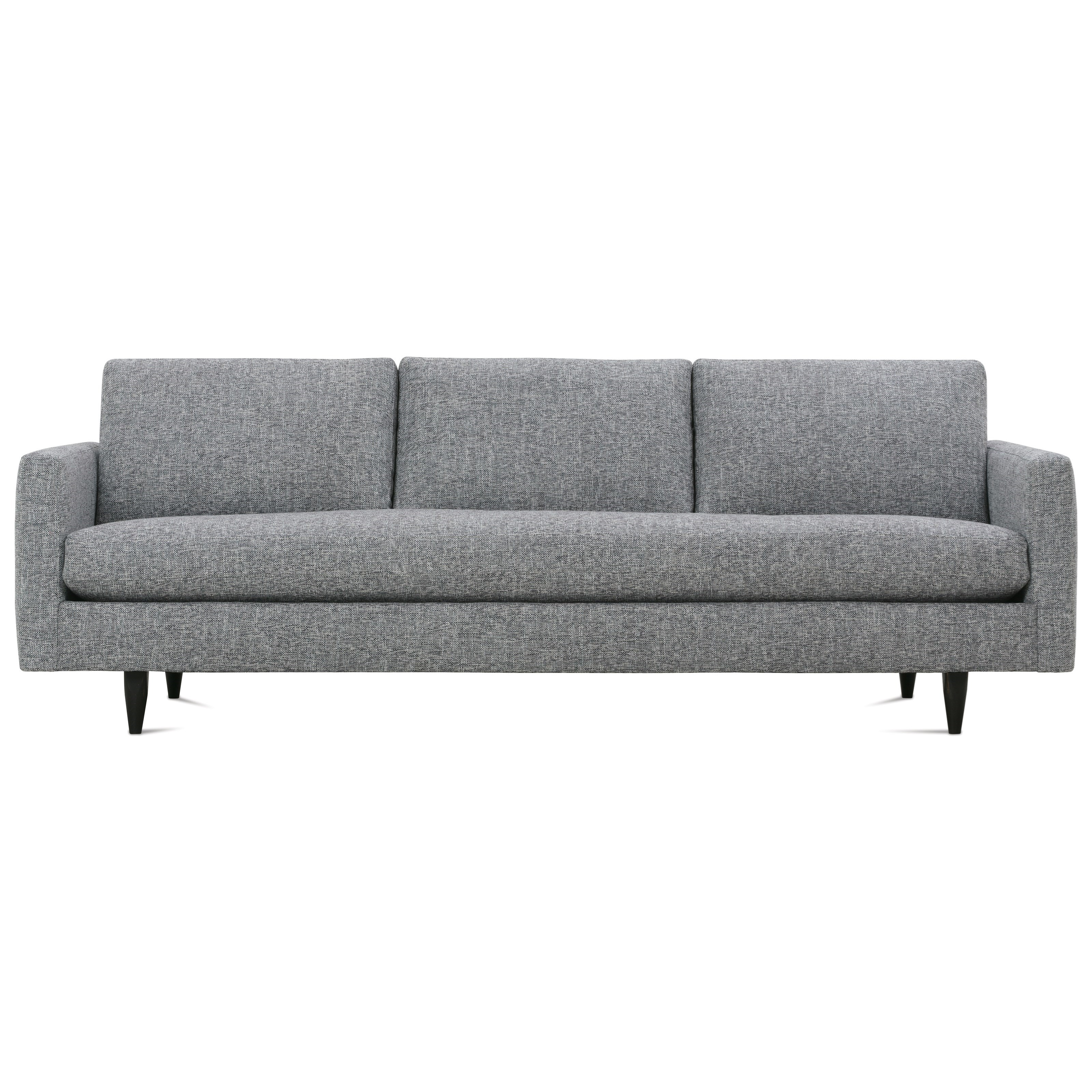 Modern Mix Large Sofa by Rowe at Baer's Furniture