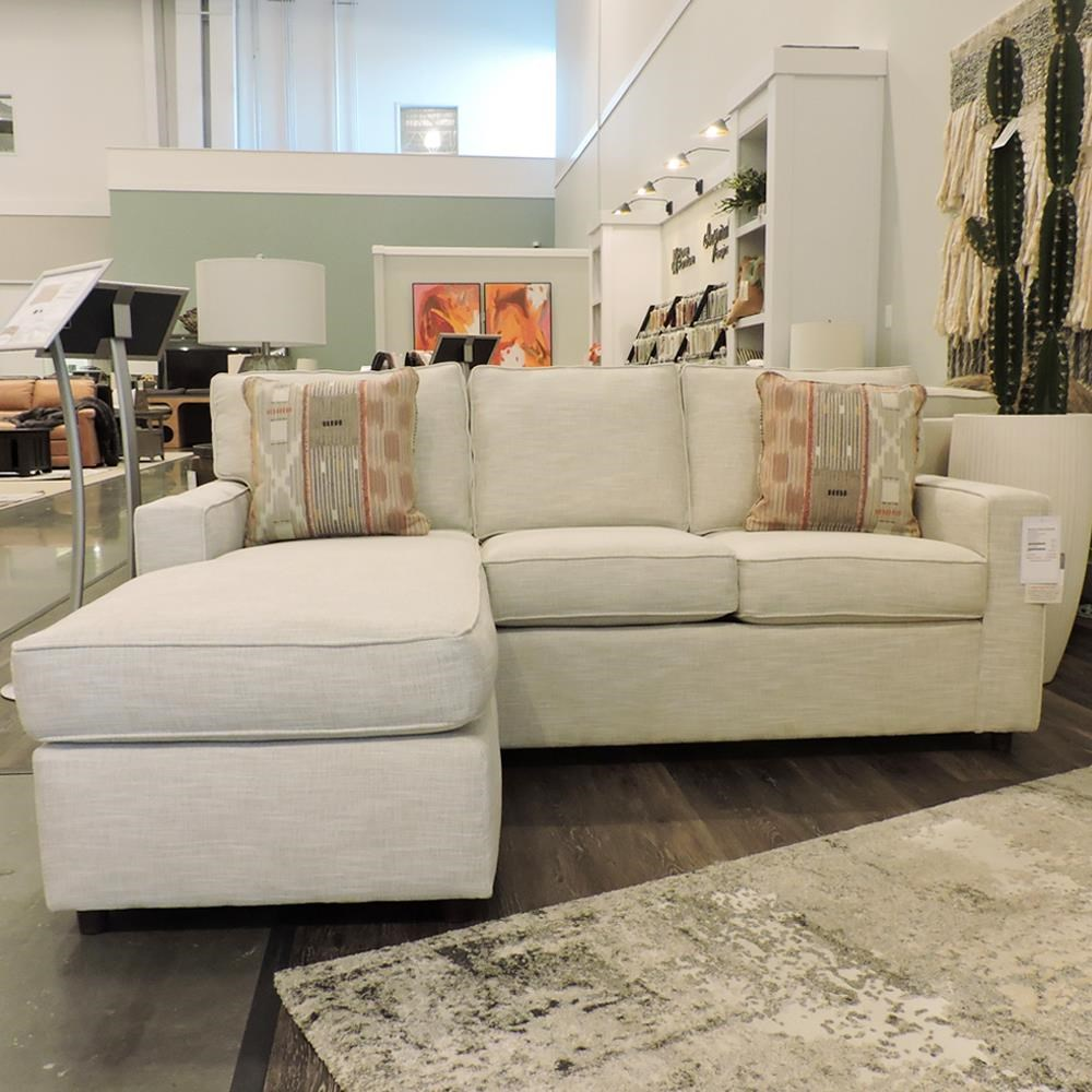 Monaco Sofa Chaise by Rowe at Belfort Furniture