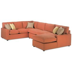 Rowe Monaco Sectional Sofa