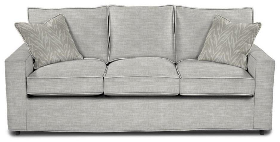 Monaco Queen Sofa Sleeper by Rowe at Baer's Furniture