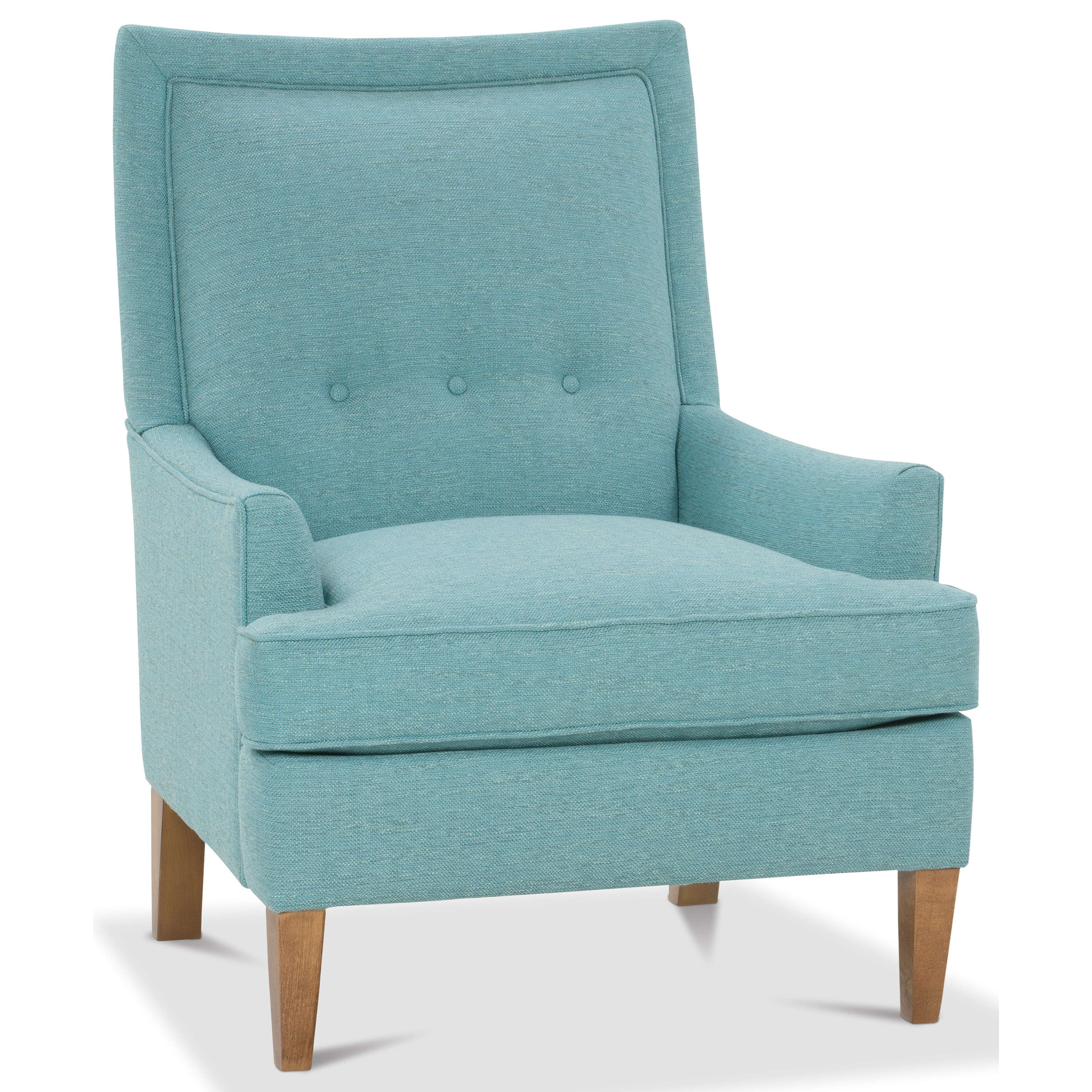 Monroe  High Back Chair by Rowe at Baer's Furniture