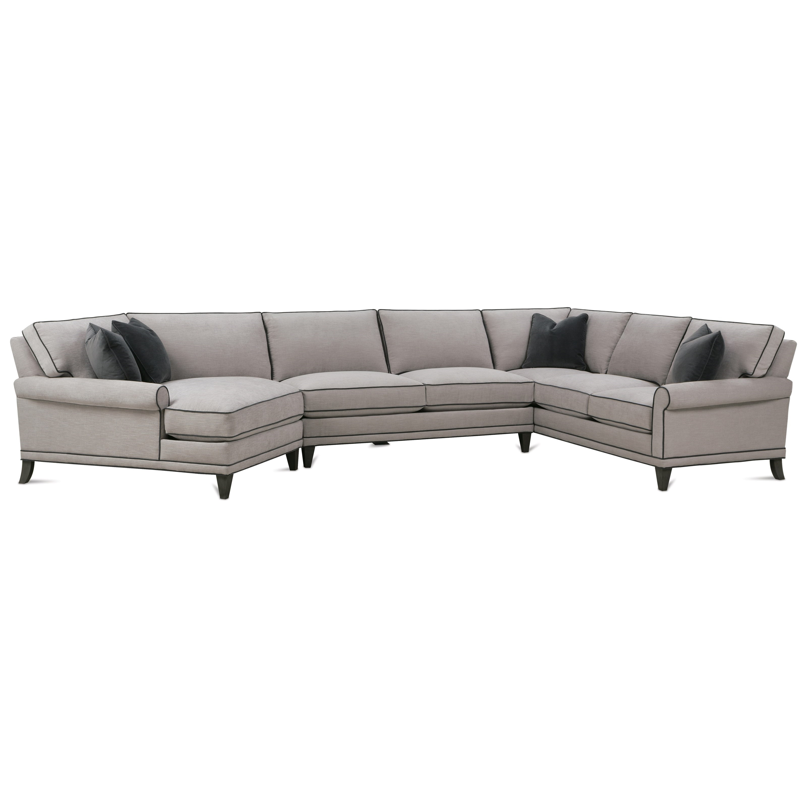 My Style II Customizable Sectional Sofa by Rowe at Steger's Furniture