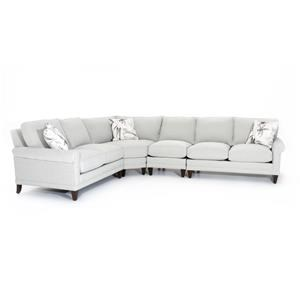 6-Seater Customizable Sectional Sofa