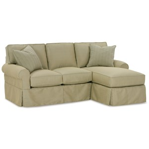 Slipcover Sofa with Chaise