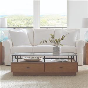 "84"" 3 Cushion Slipcover Sofa"