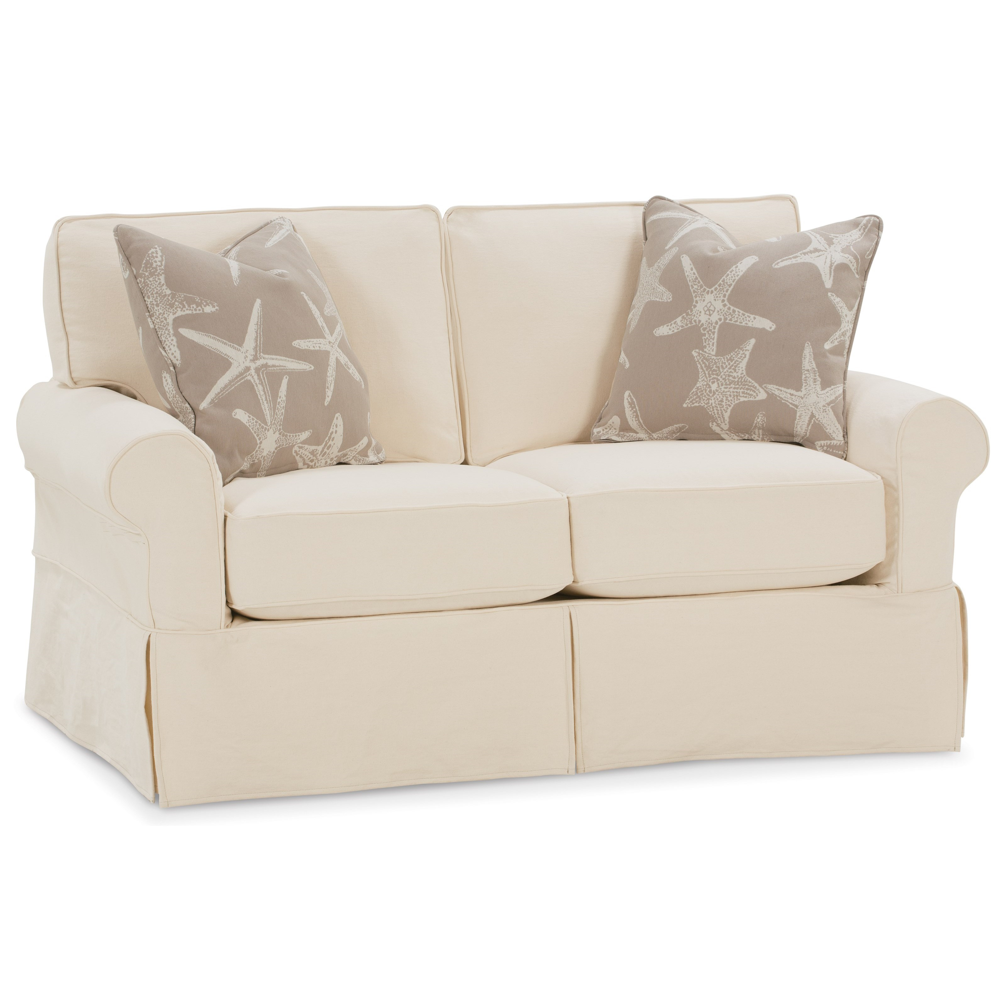 Nantucket  Transitional Loveseat by Rowe at Saugerties Furniture Mart