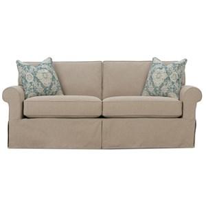 "84"" Two Cushion Sleeper Sofa"