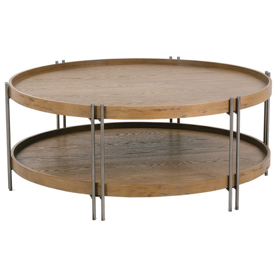 Nomad Cocktail Table by Rowe at Baer's Furniture