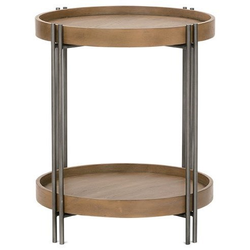 Nomad End Table by Rowe at Steger's Furniture