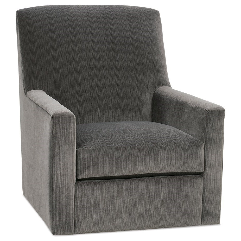 Owen Casual Swivel Glider by Rowe at Baer's Furniture