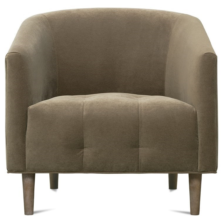 Pate Barrel Chair by Rowe at Baer's Furniture