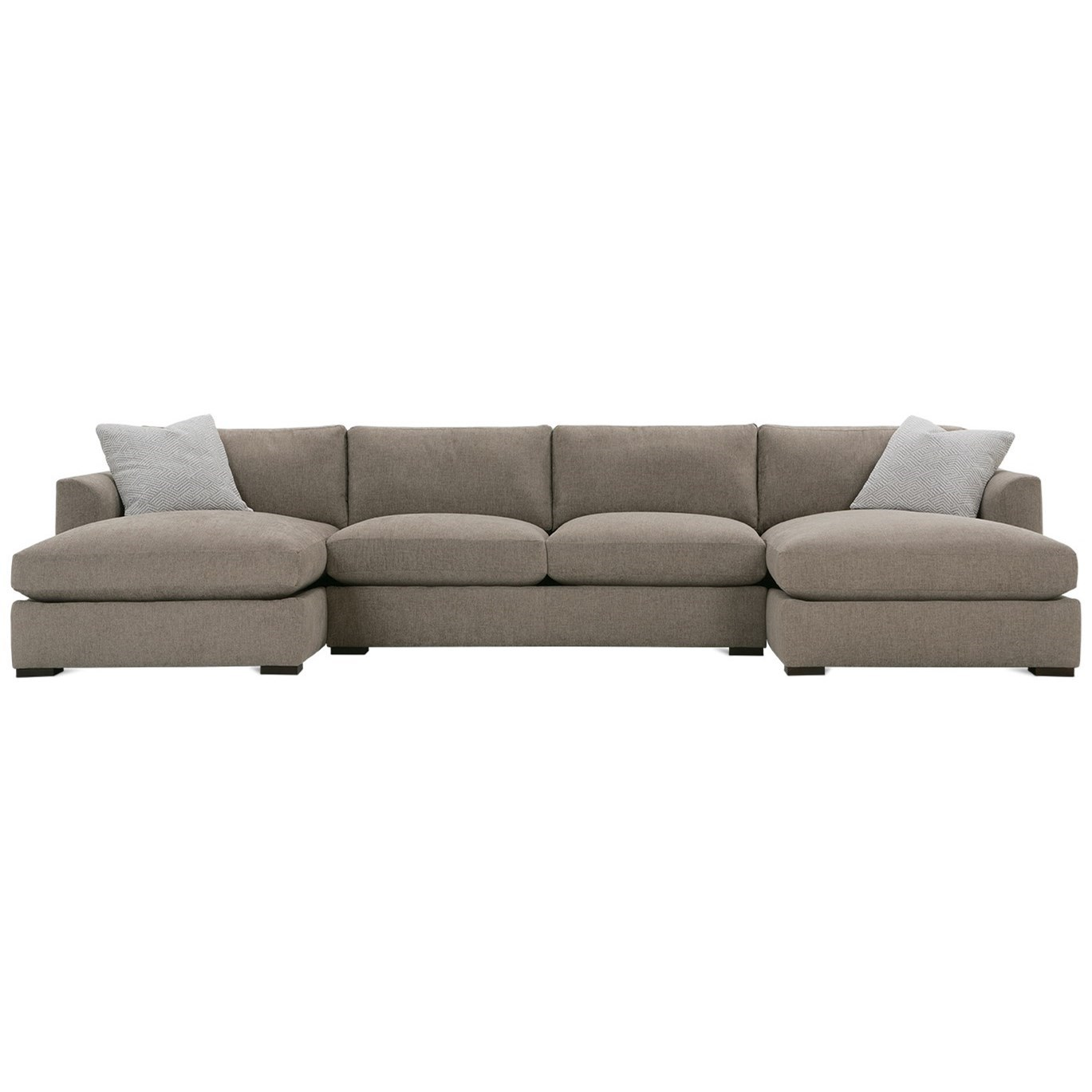 Derby Sectional Sofa by Rowe at Steger's Furniture