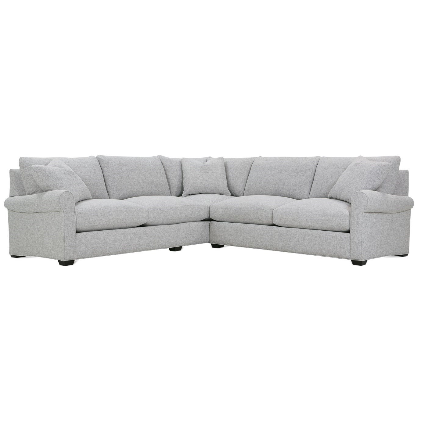 Aberdeen Sectional Sofa by Rowe at Steger's Furniture