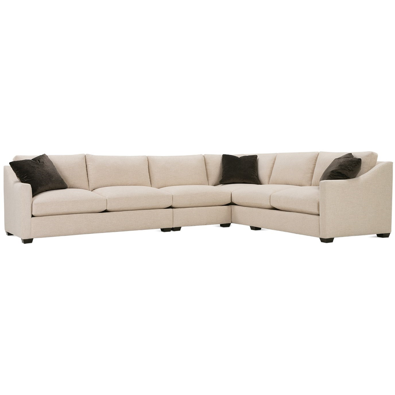 Bradford Sectional Sofa by Rowe at Baer's Furniture