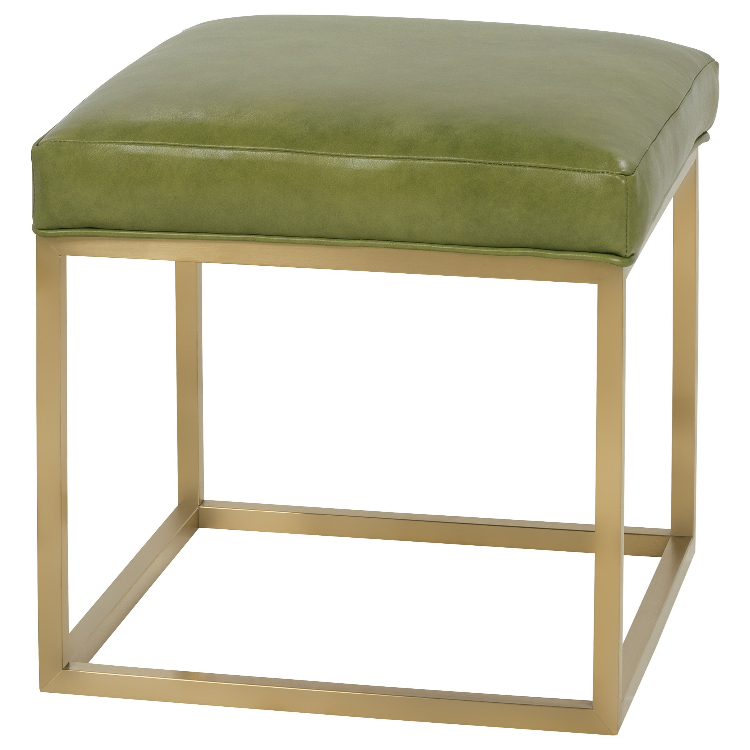 Percy Contemporary Accent Cube Ottoman by Rowe at Baer's Furniture