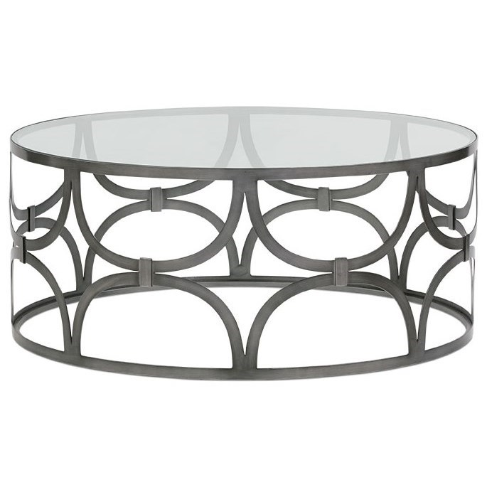 Poeme Cocktail Table by Rowe at Baer's Furniture
