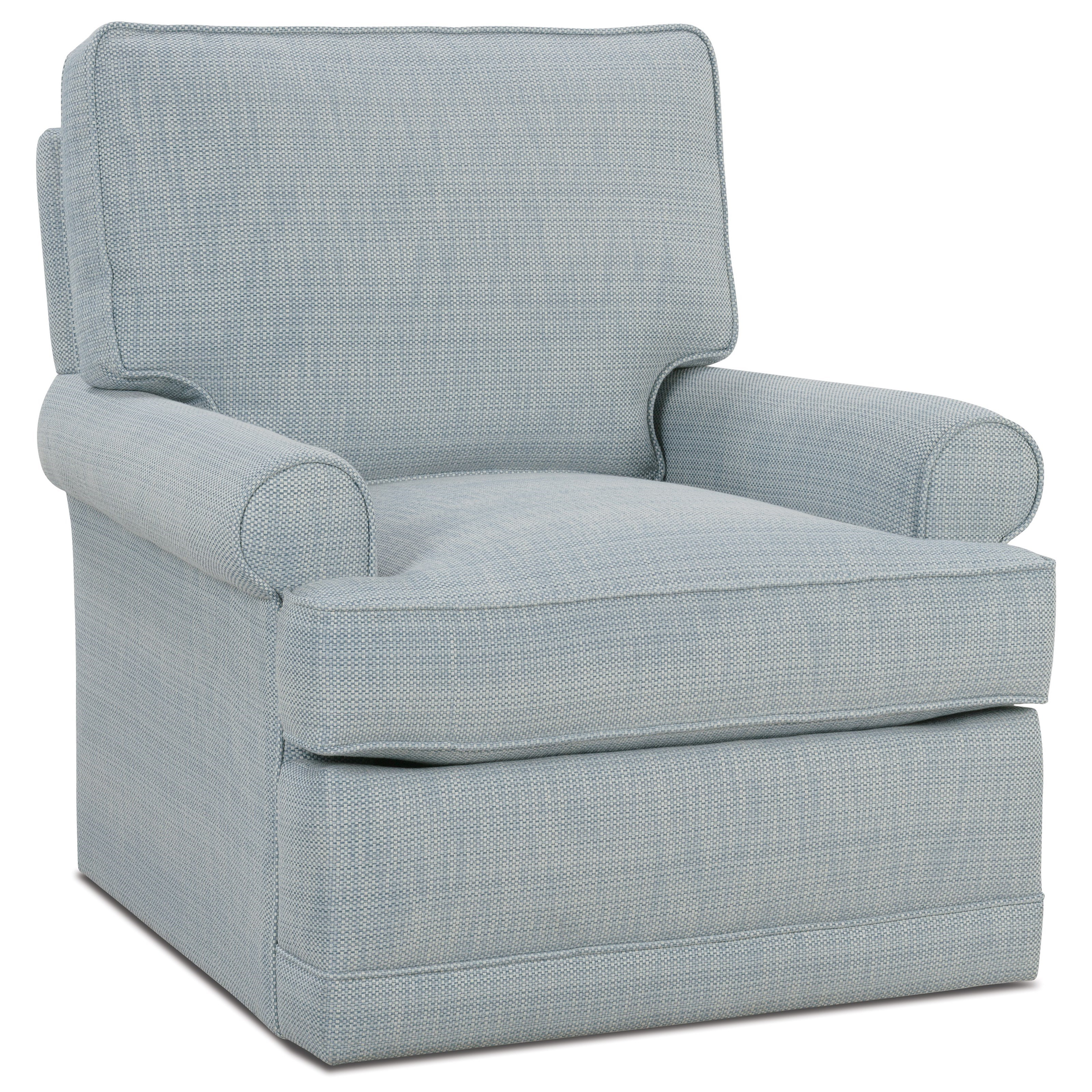 Sully Small Swivel Glider by Rowe at Baer's Furniture