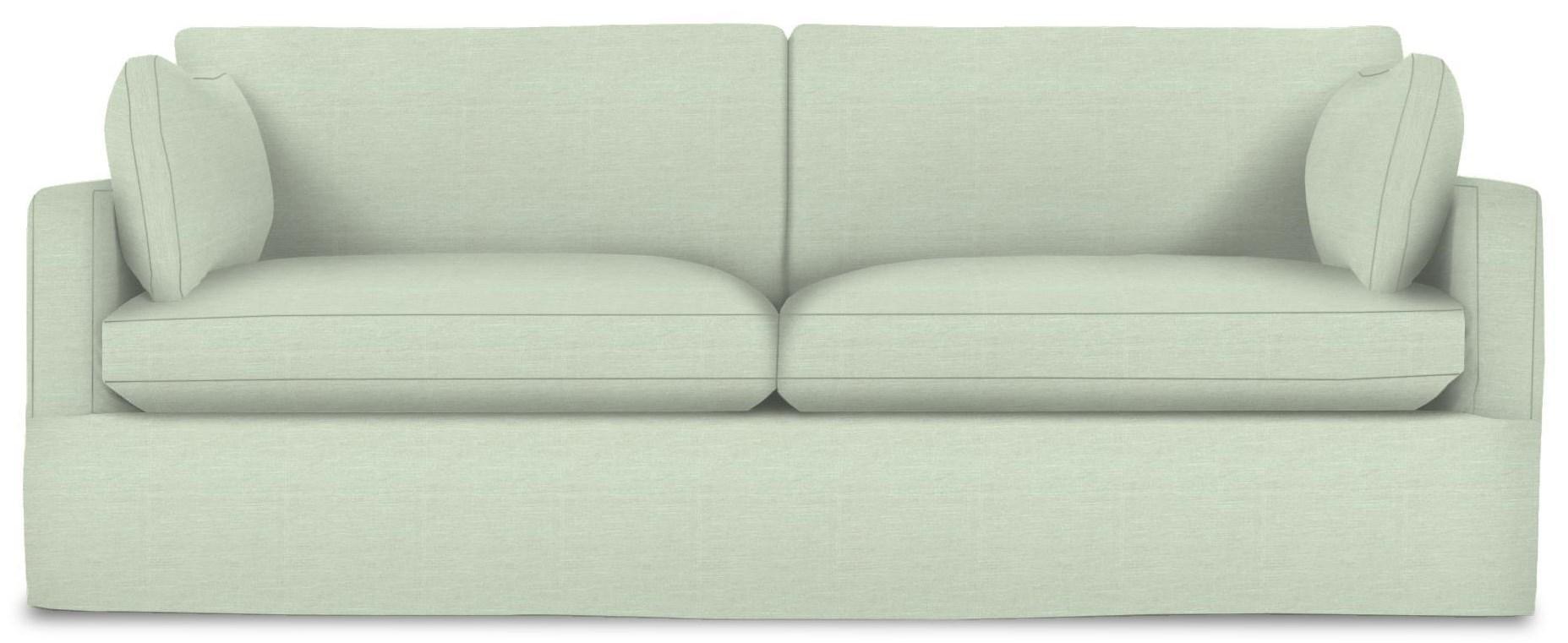Sylvie Slip Cover Sofa by Rowe at Johnny Janosik