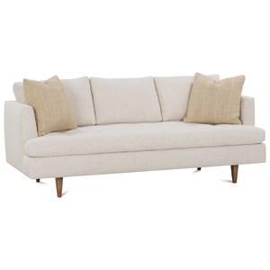 79 Inch Modern Track Arm Sofa