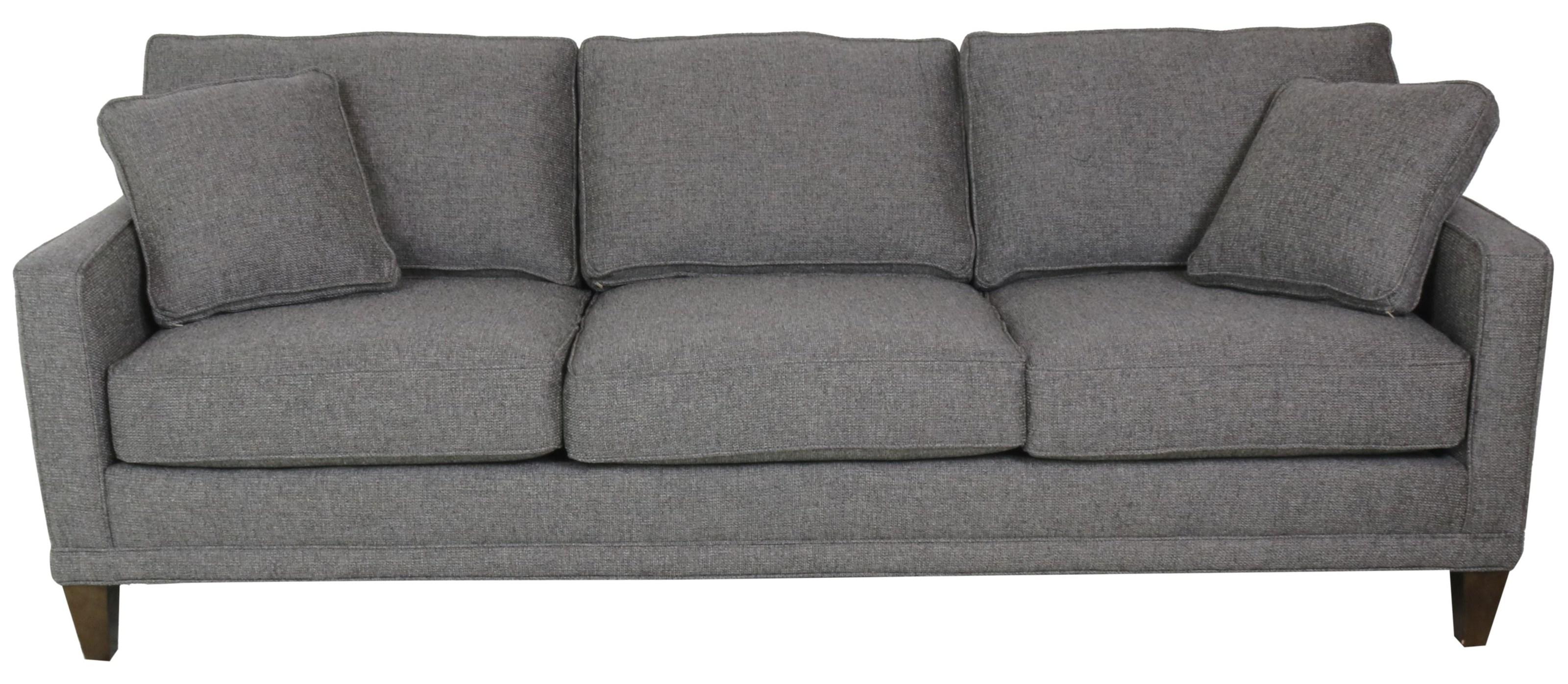 Townsend 3-Cushion Sofa by Rowe at Sprintz Furniture