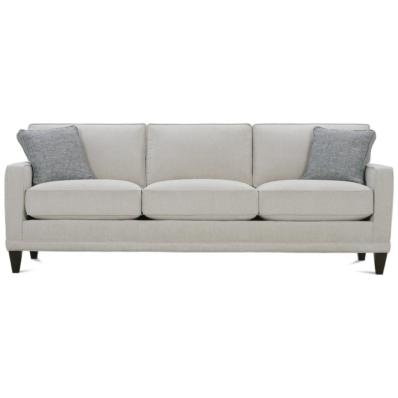 Townsend 3-Cushion Sofa by Rowe at Belfort Furniture