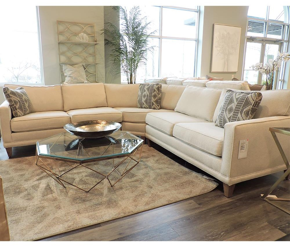Townsend Sectional by Rowe at Belfort Furniture