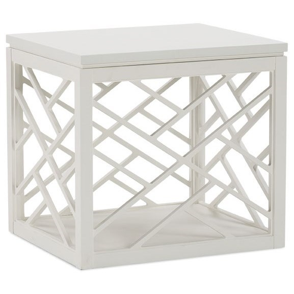 Tracery End Table by Rowe at Baer's Furniture