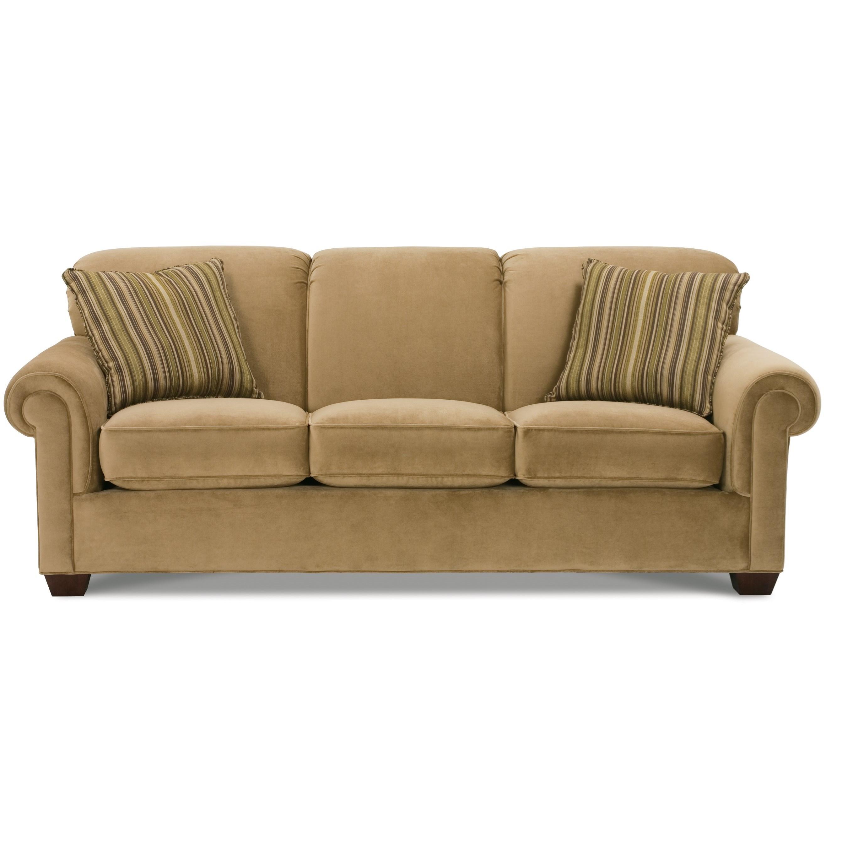 Woodrow Sofa Sleeper by Rowe at Steger's Furniture