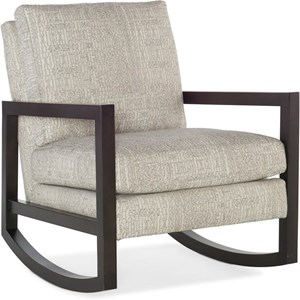 Contemporary Upholstered Rocking Chair