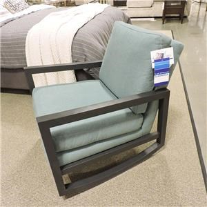 Upholstered Rocker