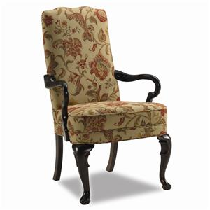 Sam Moore Adams 4710 Exposed Wood Chair