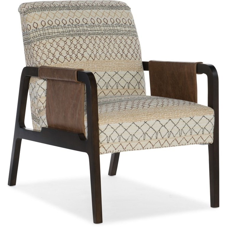 Arrow Exposed Wood Chair by Sam Moore at Alison Craig Home Furnishings