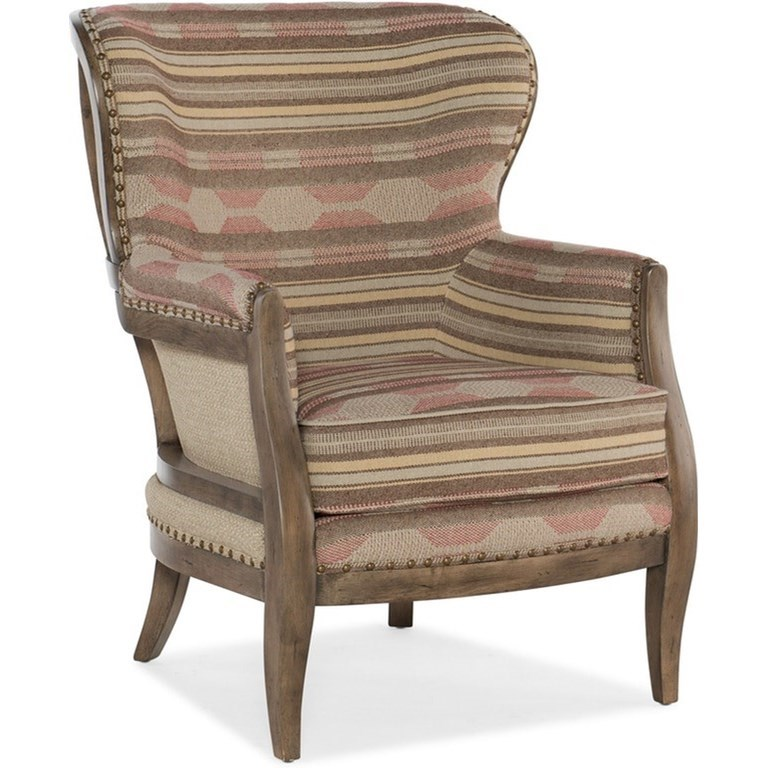 Calhoun Exposed Wood Chair by Sam Moore at Johnny Janosik