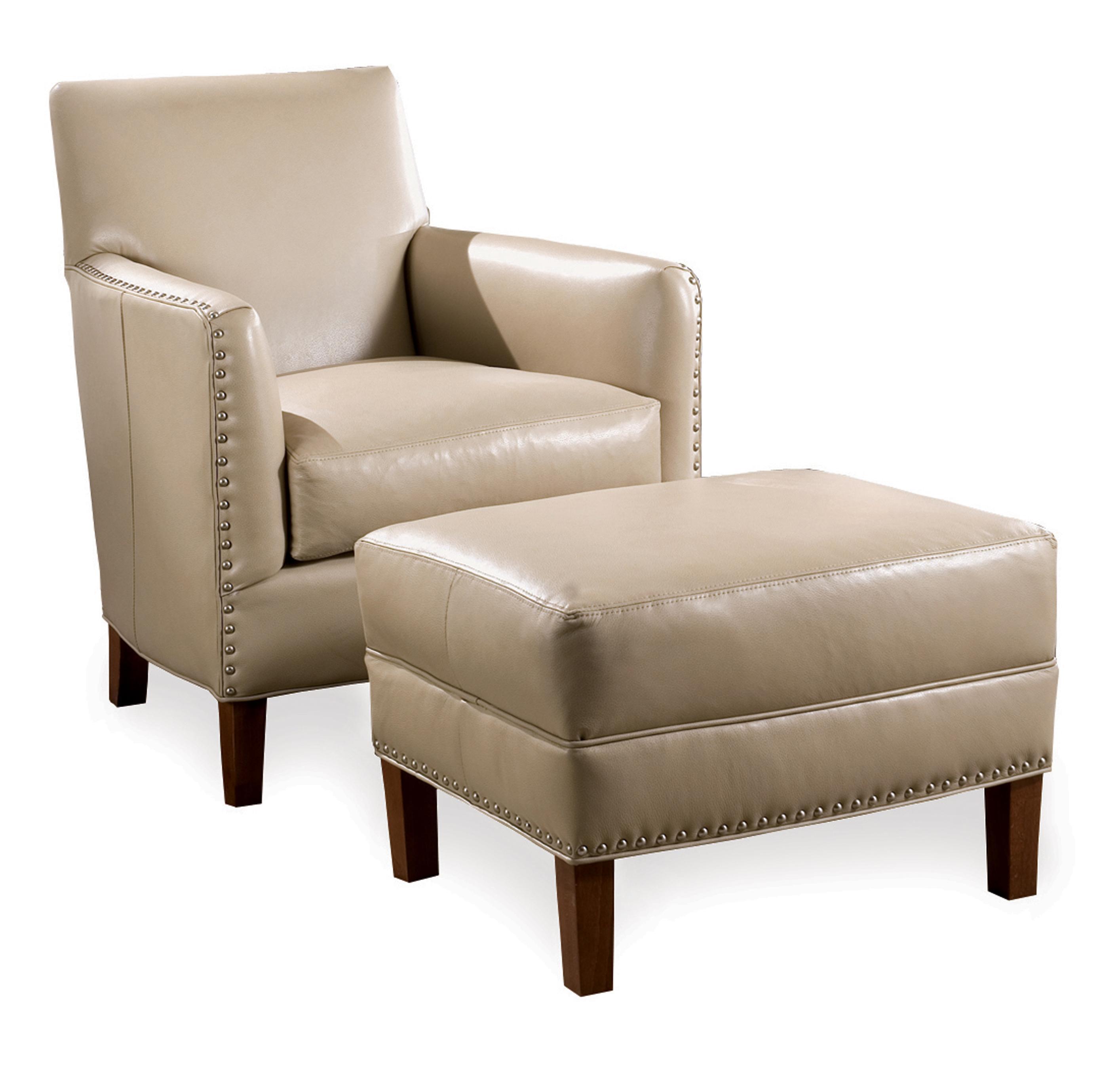 Calvin Chair & Ottoman by Sam Moore at Baer's Furniture