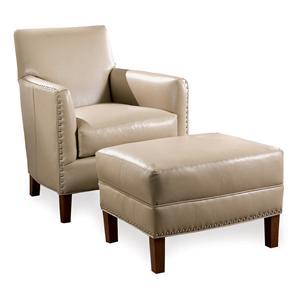 Sam Moore Calvin Chair & Ottoman