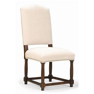 Sam Moore Continental Camel Back Chair