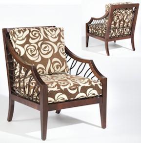 Ellis Exposed Wood Chair by Sam Moore at Baer's Furniture