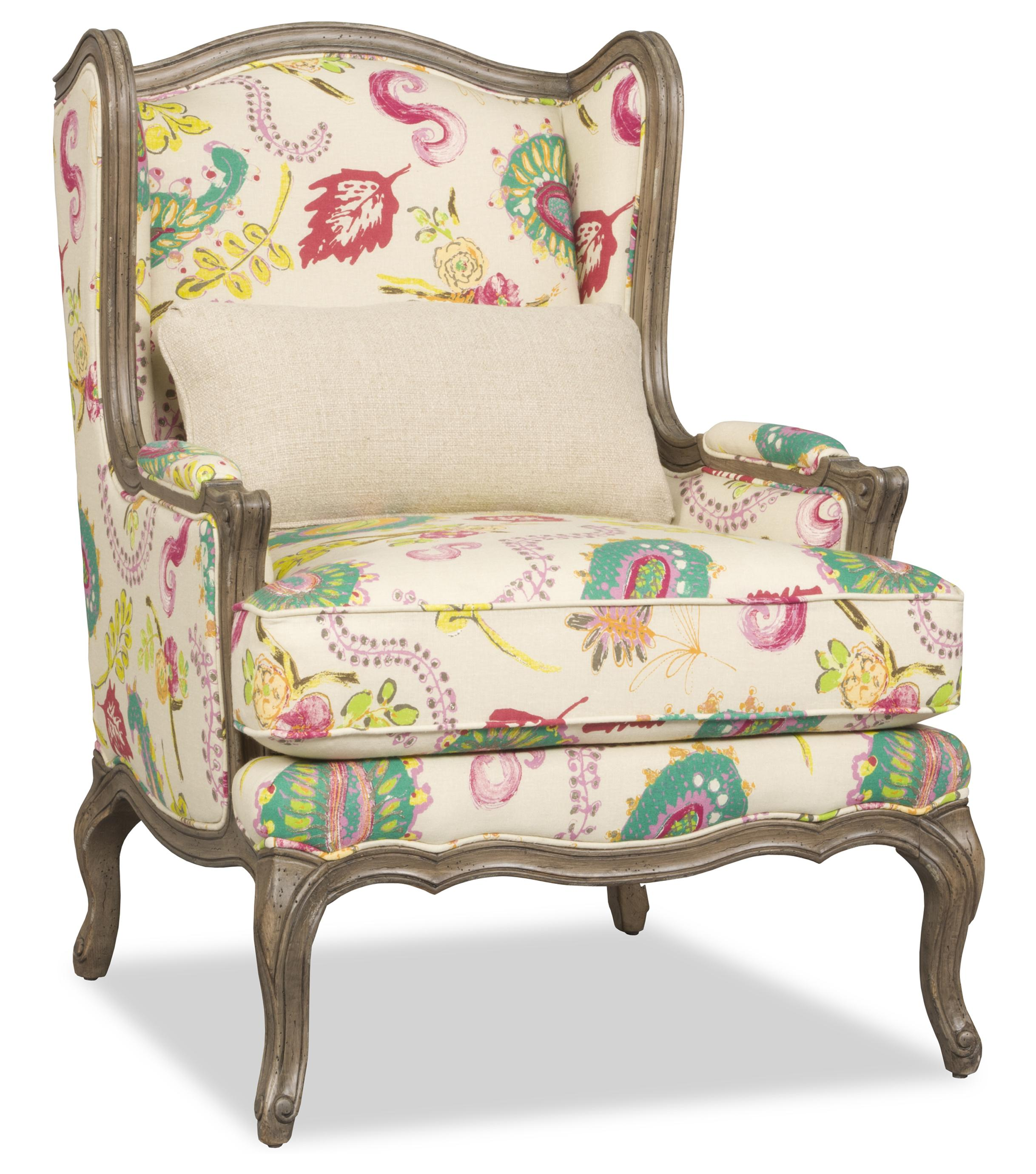 Kelsea Wing Chair by Sam Moore at Baer's Furniture