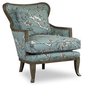 Sam Moore Kenly Exposed Wood Chair