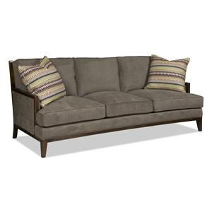 Sam Moore Keyser Exposed Wood Sofa