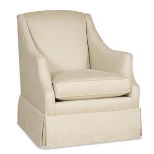 Sam Moore Lark Skirted Club Chair