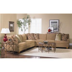 Sam Moore Mason Sectional Sofa