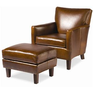 Sam Moore Nigel Chair and Ottoman