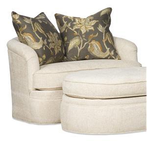 Sam Moore Palais Swivel Tub Chair