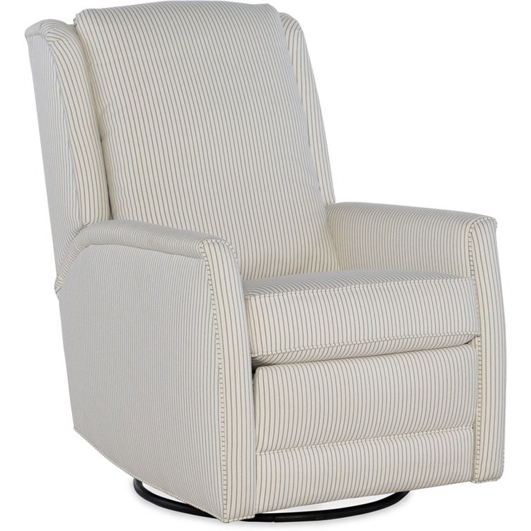 Prudence Swivel Glider Recliner by Sam Moore at Johnny Janosik