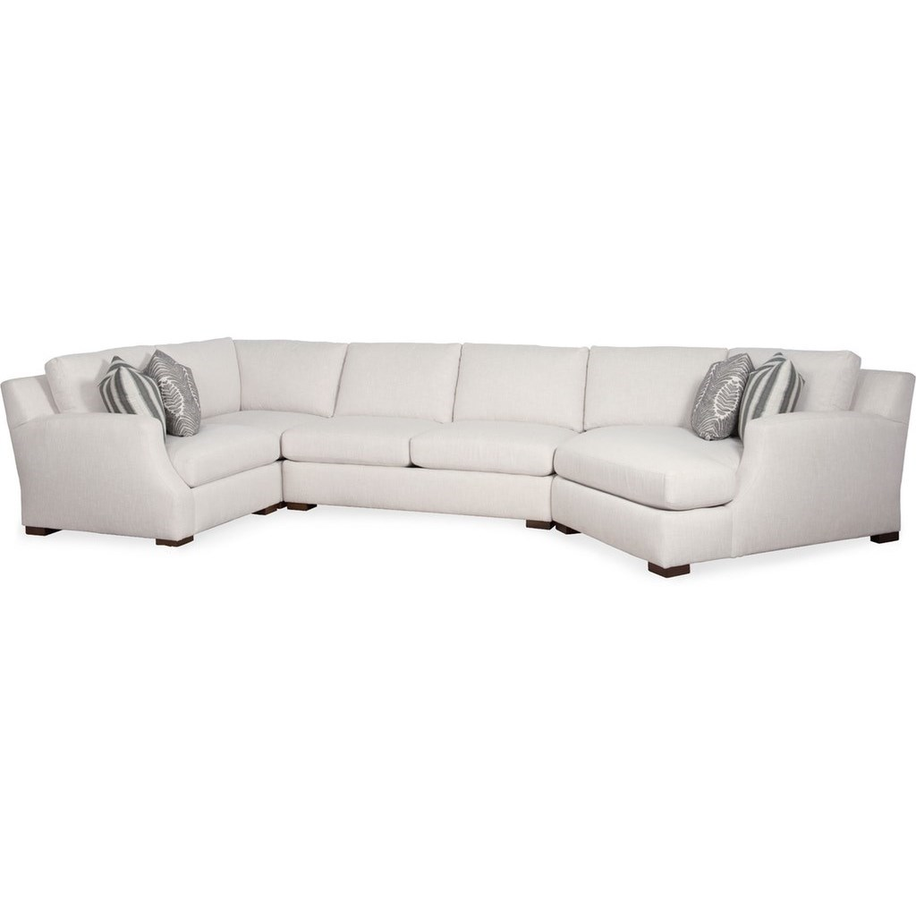 Sariah Sectional Sofa by Sam Moore at Belfort Furniture